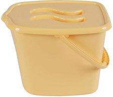 Maltex Windeleimer mit Deckel Classic Gelb