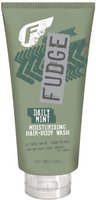 Fudge Daily Mint Moisturising Hair & Body Wash (350 ml)