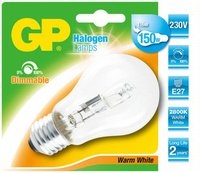 GP Lighting CLASSIC HALOGEN A60 100W/230V E-27 WARMWEISS 1800LM