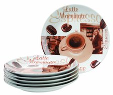 Domestic Latte Macchiato Dessertteller