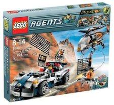 LEGO 8634 Agents Mission 5 Silberner Cruiser