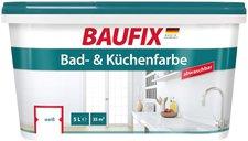 Baufix Bad- & Küchenfarbe weiß, 5L