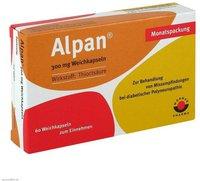Wörwag Alpan 300 mg Weichkapseln (60 Stk.) (PZN: 09674349)