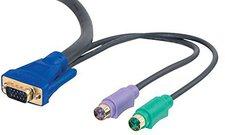 CablesToGo 10m Ultima 3-in-1 Universal KVM Kabel (81737)