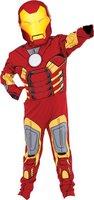 Rubies Kinderkostüm Iron Man mit Muskeln