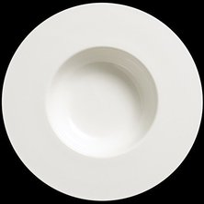 Dibbern Fine Bone China Pure Teller26 cm 0,25 Ltr. tief breiter Rand