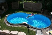 Summer Fun Exklusive California Aufstellbeckenset 725x460 cm