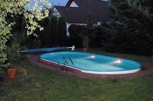my pool trend ovalform tiefbecken set 4 5 x 2 5 x 1 2 m g nstig. Black Bedroom Furniture Sets. Home Design Ideas