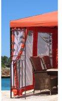 Grasekamp Seitenwand Set Pavillon Blätter 3 x 4 m