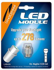 liteXpress LED-Upgrade-Modul 180lm 2-3 C/D-Cell LXB405