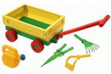 Wader Handwagen mit Gartenfüllung