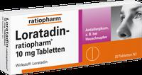 ratiopharm Loratadin 10 mg Tabletten (20 Stk.)