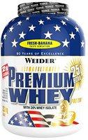 Weider Premium Whey Protein Fresh-Banane (2300g)