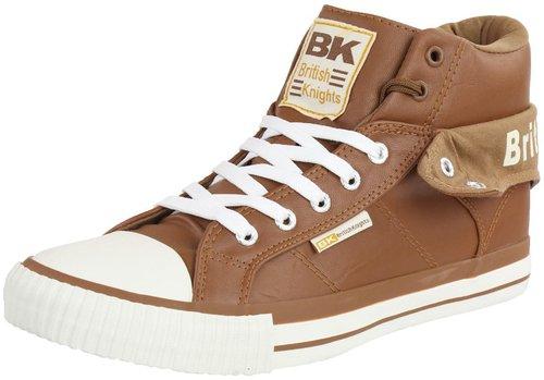 British Knights Unisex-Erwachsene ROCO Hohe Sneaker, Weiß (White/Union Jack), 36 EU