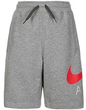 Nike B NK Air Short FT kurze Hosen für Jungen, Grau (Carbon Heather/Anthracite/University Netz), L