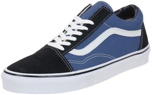 Vans Old Skool, Unisex-Erwachsene Sneakers, Weiß (Polka Dots/White), 39 EU