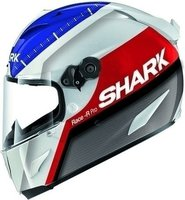 Shark Race-R Pro Carbon Racing Divis weiß/blau/rot