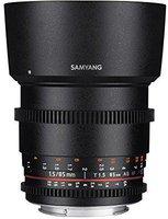 Samyang 85mm T1.5 AS IF UMC VDSLR [Nikon]