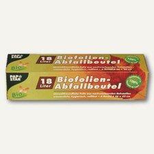 Papstar Biofolien-Abfallbeutel 18 L (6 Stk.)