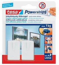 Tesa Powerstrips Bilder-Nagel weiß (2 Stk.)