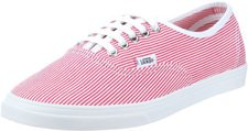 Vans Authentic Lo Pro white red-striped