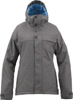 Burton Women's Method Snowboard Jacket Heathers (Grau)