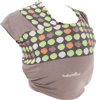 Babymoov Knoten Baby-Tragetuch mandel