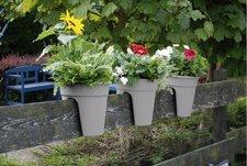 Westfalia Blumentöpfe Flowerclip 3er Set grau