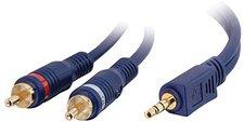 CablesToGo 80272 Velocity Stereo Audiokabel (0,5m)