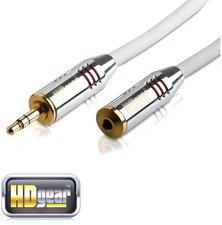 HDgear AC0110-030 Premium 3,5 Klinke / 3,5 Klinke-F (3m)