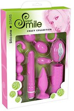Smile Silicone Stars Crazy Collection (7-teilig)