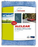 Alclear Ultra-Microfasertuch 2-Seiten-Allrounder