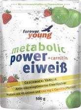 Forever Young Power Eiweiß Nachfüllbeutel (Vanille)