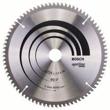 Bosch Optiline Wood Kreissägeblatt 254 x 30 x 2,5 mm WZ/N (2 608 640 437)