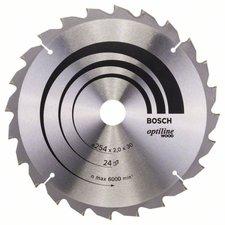 Bosch Optiline Wood Kreissägeblatt 254 x 30 x 2,0 mm WZ/N 24 (2 608 640 434)