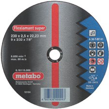 Metabo Flexiamant Super Stahl A 36-T 230 x 2,5 x 22,23 mm (6.16103.00)