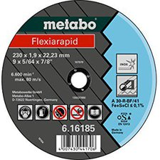 Metabo Flexiarapid Inox A 60-R 115 x 1 x 22,23 mm (6.16186.00)