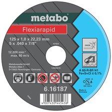 Metabo Flexiarapid Inox A 60-R 125 x 1 x 22,23 mm (6.16187.00)