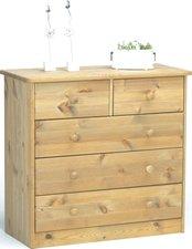Steens Furniture Ltd Mario 012/30 Kommode gelaugt geölt 2+3 Schubladen