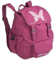 Lässig Backpack Butterfly berry