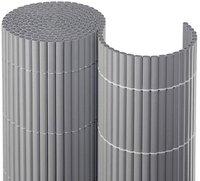 Noor Sichtschutzmatte PVC silber 180 x 300 cm