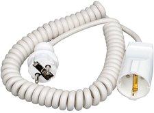 Kopp Spiral-Verlängerung 2,5m weiß (140201091)