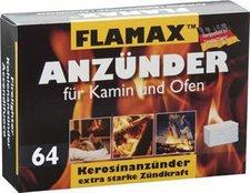 Flamax Anzünder für Kamin und Ofen 64 Stück