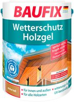 Baufix Wetterschutz-Holzgel Eiche Hell 5 Liter (815505)