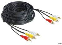 DeLock 85028 Audio/Video-Cinchkabel (10m)