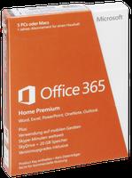 Microsoft MS Office 365 Home Premium (DE) (Win) (PKC) (1 Jahr)