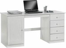 Idimex Manager Schreibtisch (Kiefer massiv lackiert)