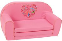 Knorr-Baby Kindersofa bird-flowers