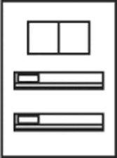 Ritto Vista Briefkasten UP (2 Postfächer)