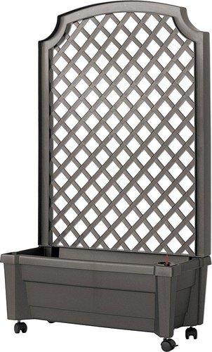 khw pflanzkasten mit spalier 80 cm anthrazit preisvergleich ab 54 21. Black Bedroom Furniture Sets. Home Design Ideas